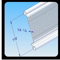 Ρολό Λαμαρίνας Διάτρητο τύπου ΠΑΣΤΟΡΕ (Ίσιο ή πομπέ)
