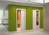 Μεταλλικό κιβώτιο Συρόμενης Χωνευτής πόρτας
